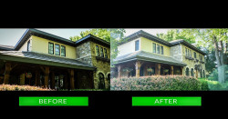 10 exterior painting contracting front before after